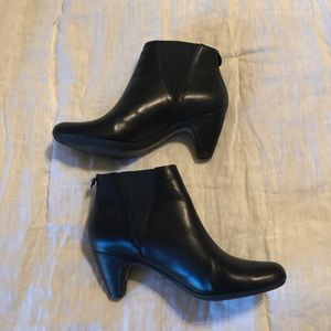 Sam Edelman Black Slip On Booties